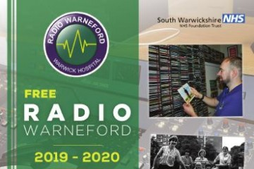 Cover of Radio Warneford 2019 Patients' Magazine