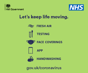 NHS Message - Let's Keep Life Moving